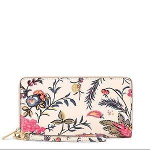 Tory Burch Parker Gabriella floral wallet